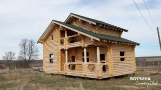 Дом с видом на поселок и пруды