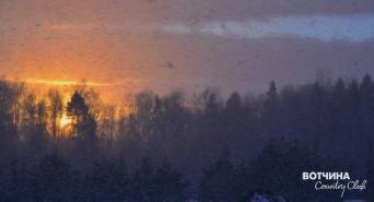 Самые красивые закаты на Вотчине. #ЖИВИНАВОТЧИНЕ