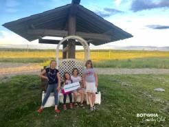 Английский лагерь на Вотчине под руководством нашей жительницы Алексеевой Веры.