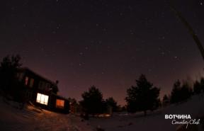 За настоящей зимой - на Вотчину! Дом в деревне, большие участки и удобный сервис.