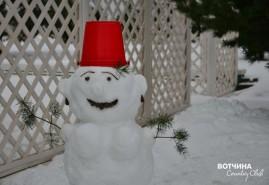 Зима - пора лепить снежных баб!