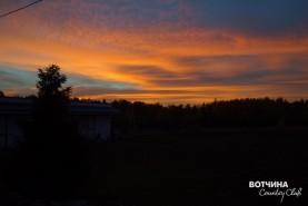 Осенью закаты особенные! Насыщенные и контрастные цвета. ЖИВИНАВОТЧИНЕ!