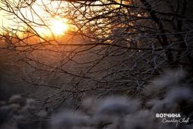 Солнце на закате - пора домой