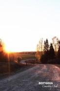 Подъездная дорога на ВОТЧИНУ удобна в любое время года, для любого автомобиля и необычайно красива!