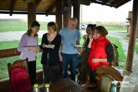 Дегустацией сыров собственного производства от семьи Марченко