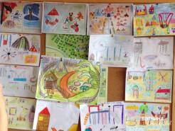 Конкурс детского рисунка Лето вместе. Работы наших маленьких конкурсантов.