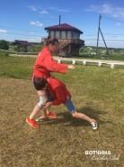 Спортивный лагерь секции самбо на Вотчине