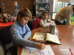 Конкурс детского рисунка Лето вместе. Творческий процесс.