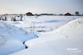 Холодный зимний январь на Вотчине завораживает своей красотой...